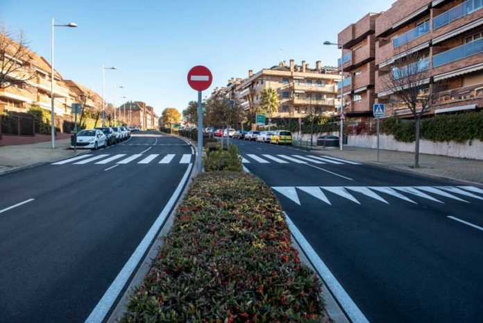 Operación asfalto en Pozuelo de Alarcón