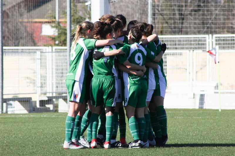 Equipo femenino CF Pozuelo