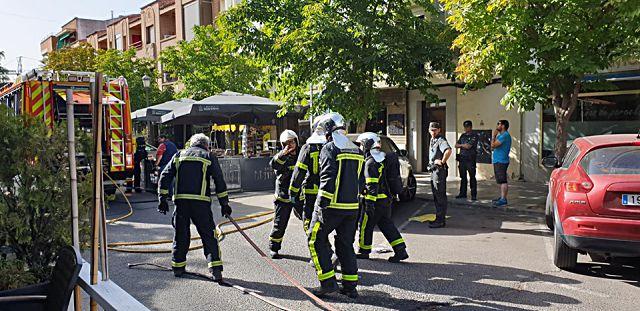 Explosión en restaurante de Villaviciosa de Odón