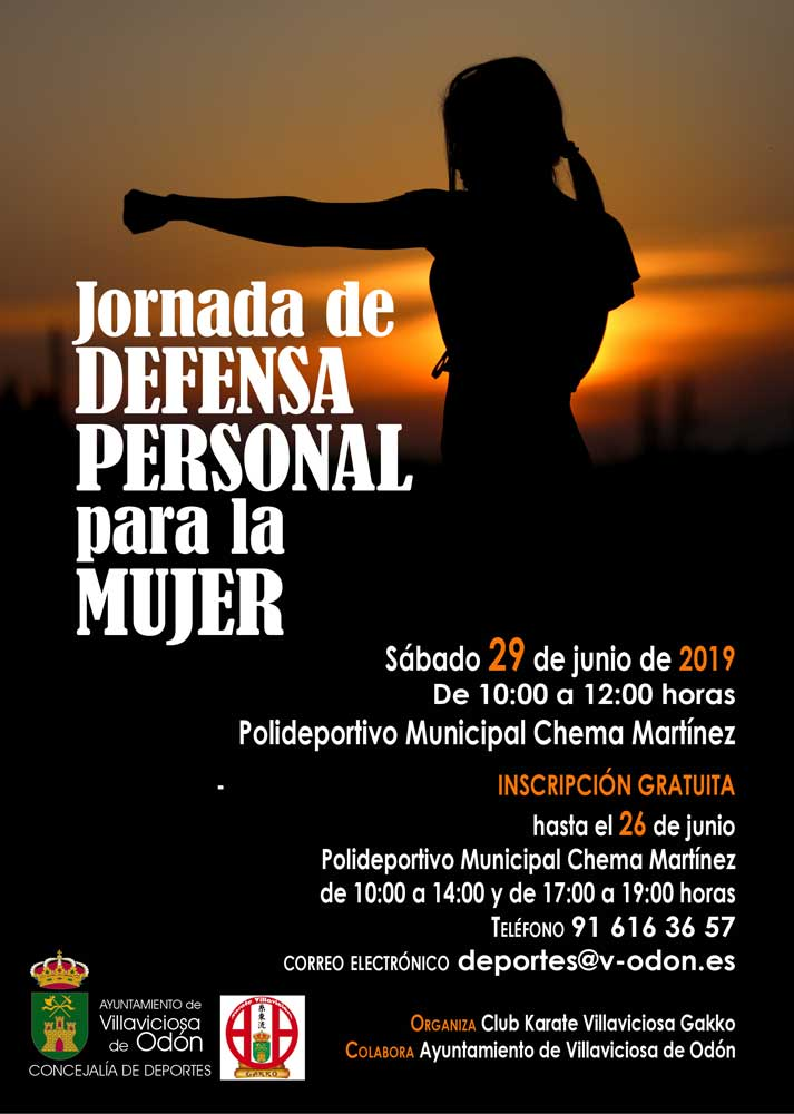 Jornada de defensa personal mujeres en Villaviciosa de Odón