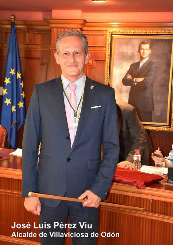 José Luis Pérez Viu alcalde de Villaviciosa de Odón