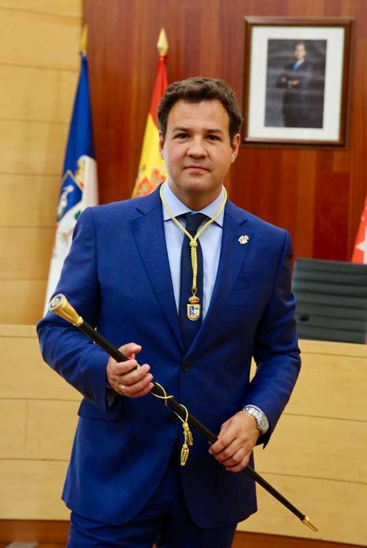 Investidura de José de la Uz alcalde de Las Rozas