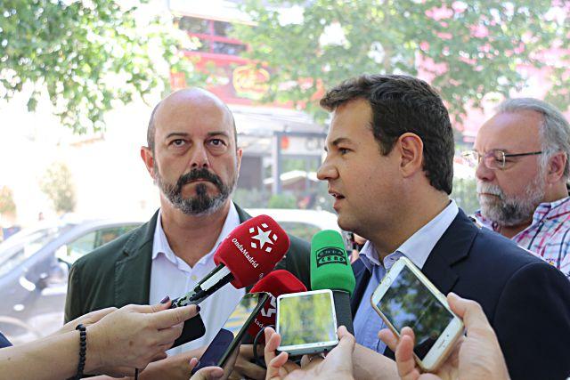 Luis Rollán y De la Uz en Las Rozas