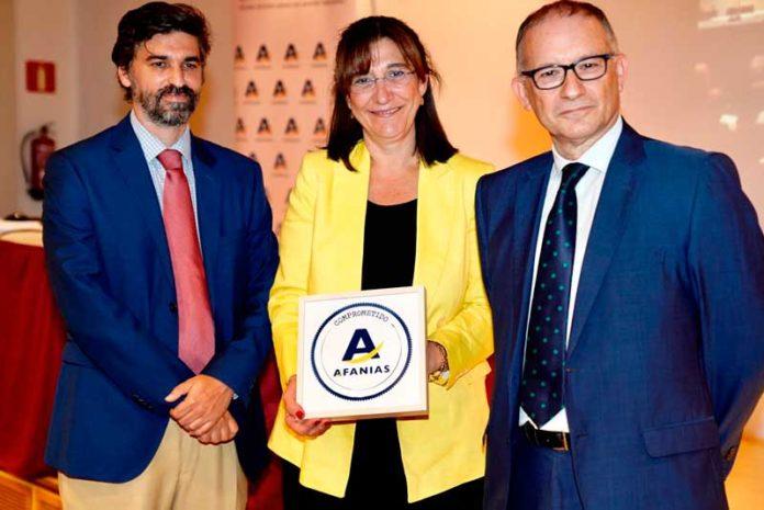 El ayuntamiento de Pozuelo recibe el sello Afainas
