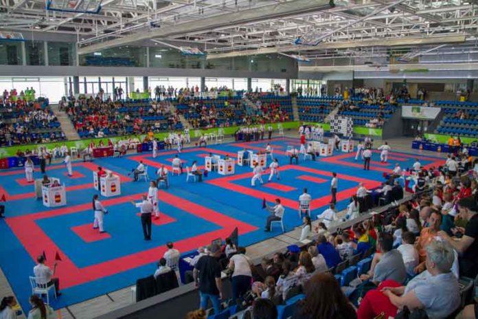Campeonato Clubes Karate en Boadilla