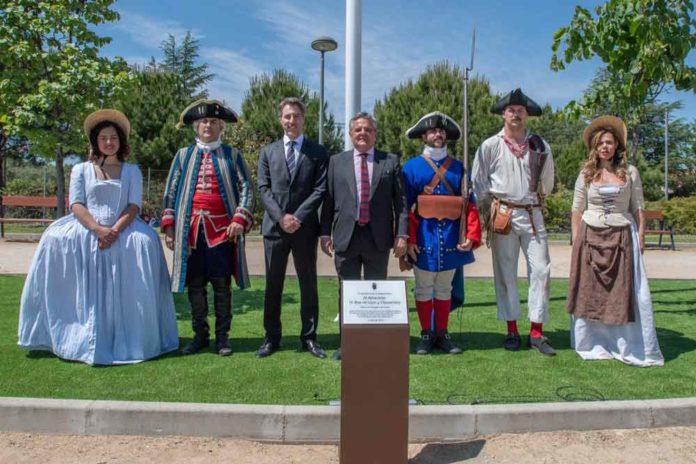 Inauguracion del Parque Blas de Lezo de Majadahonda