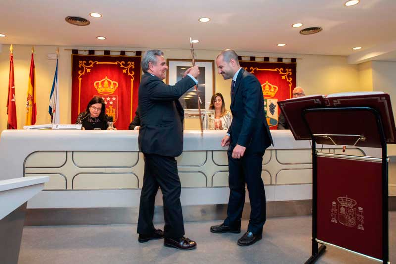 Investidura de José Luis Álvarez Ustarroz alcalde Majadahonda