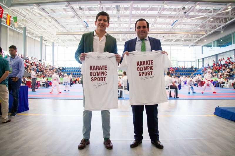 Javier Úbeda y David Mesa en campeonato clubes de Boadilla