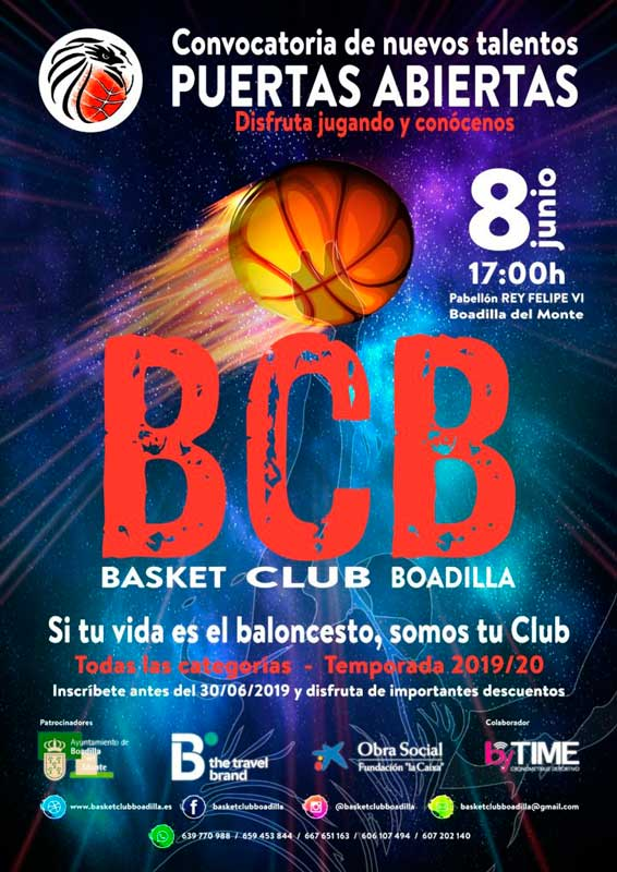 Jorbada de Puertas Abierta del Basket Club de Boadilla