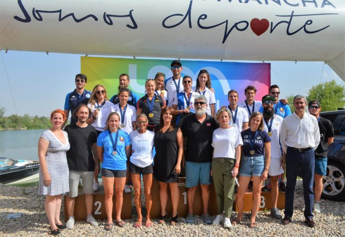 Campeonato europeo esqui nautico seseña
