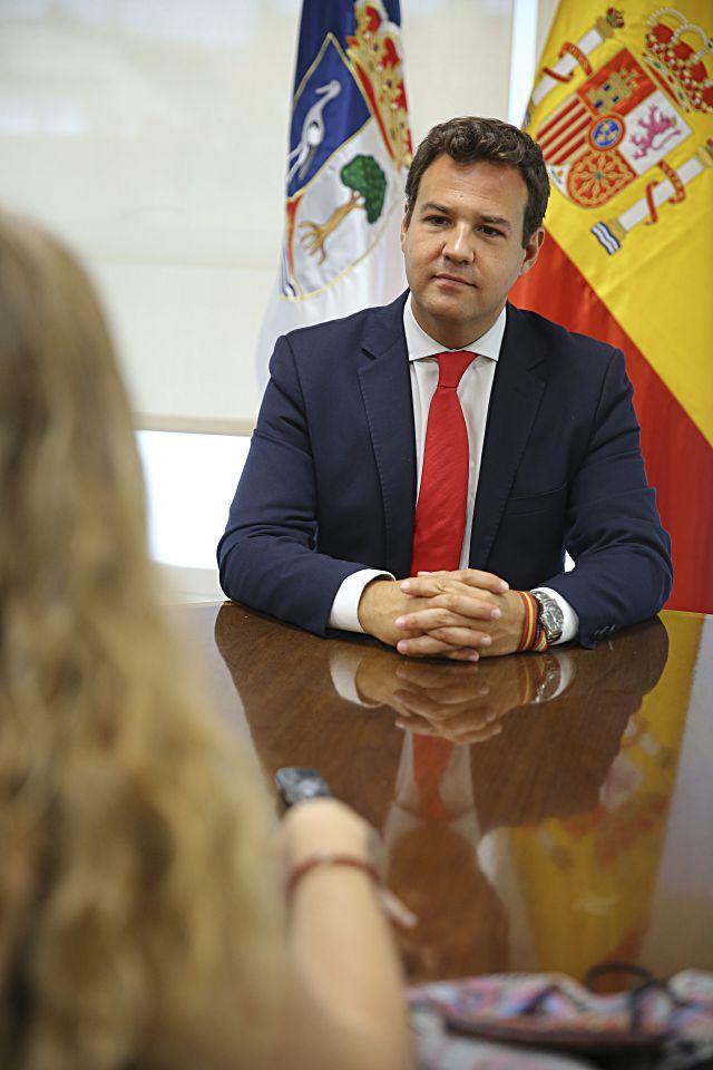 José de la Uz, alcalde de Las Rozas