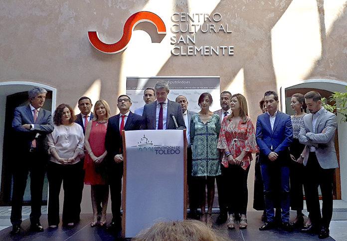Equipo de Gobierno de la Diputación Provincial de Toledo