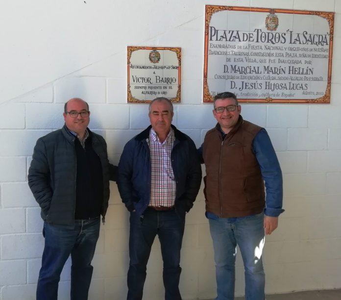 Firma del convenio III Memorial Víctor Barrio