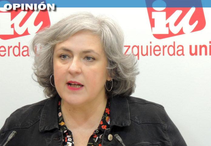 Isabel Álvarez. Responsable del Área de Mujer de IU CLM