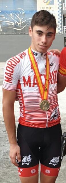 Jorge Montero, oro en campeonato de ciclismo en ruta