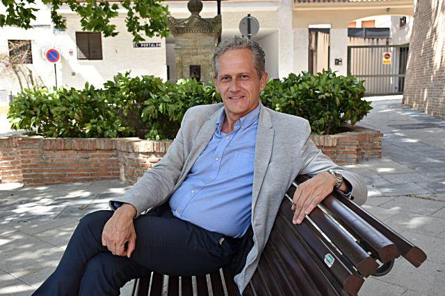 José Luis Pérez Viu, alcalde de Villavicosa de Odón