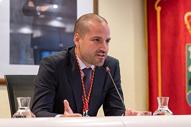 José Luis Álvarez Ustarroz, alcalde de Majadahonda
