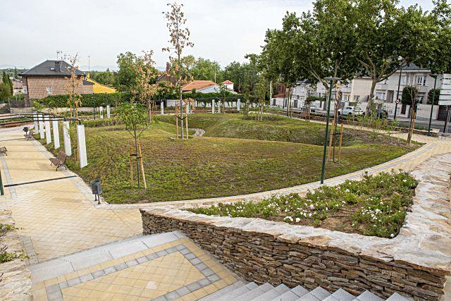 Parque Ramón y Cajal de Pozuelo Alarcon