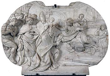 El Museo del Prado alberga algunas muestras de diferentes momentos de la aparición de la santa