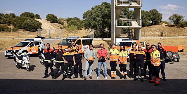 Nuevos vehículos para protección civil en Las Rozas