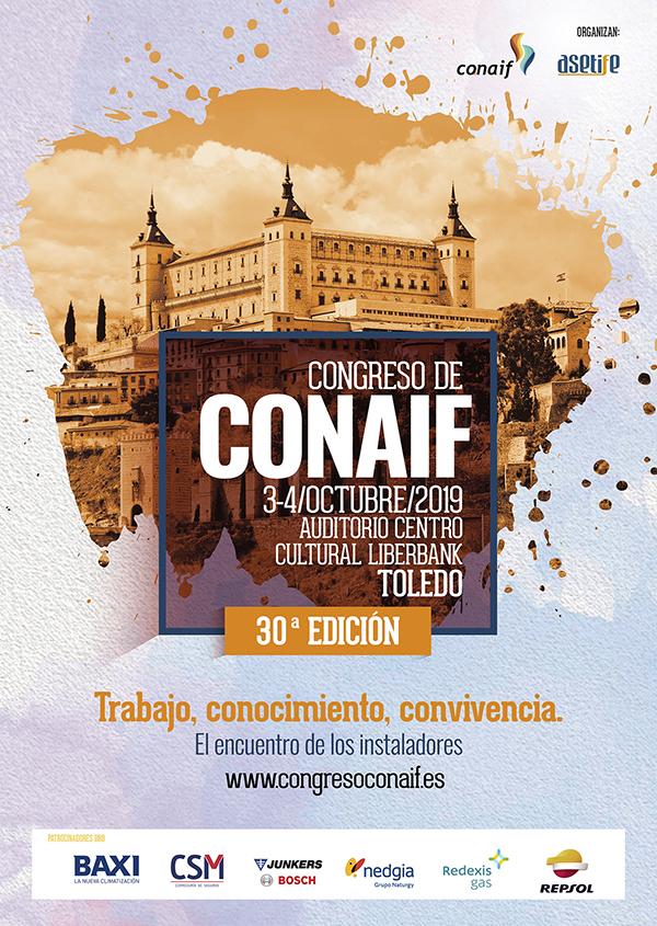cartel del congreso conaif