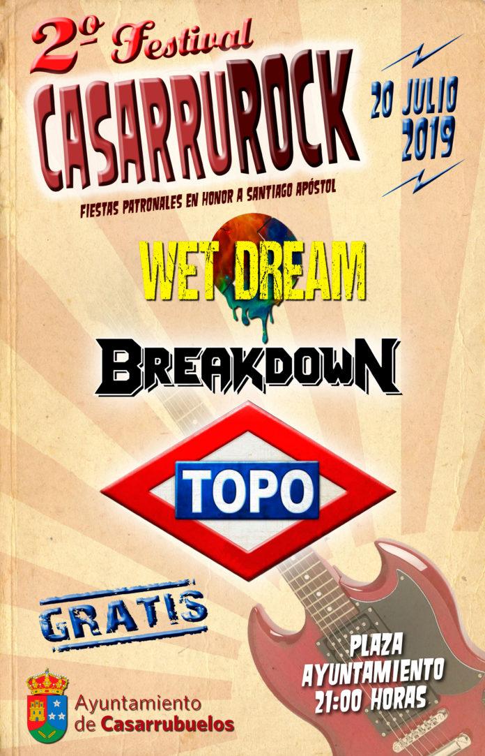 Cartel II Edición Festival Casarrurock