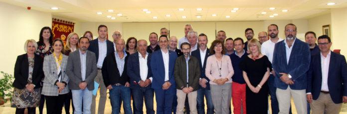Alcaldes adheridos al manifiesto para la mejora del transporte en la Sagra
