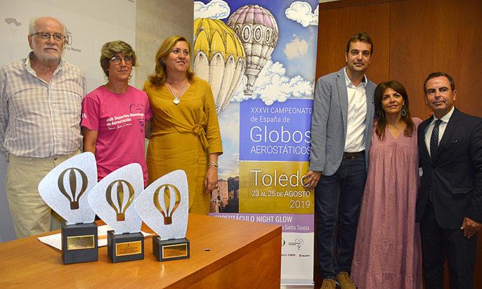 Campeonato de Globos aerostáticos en Toledo