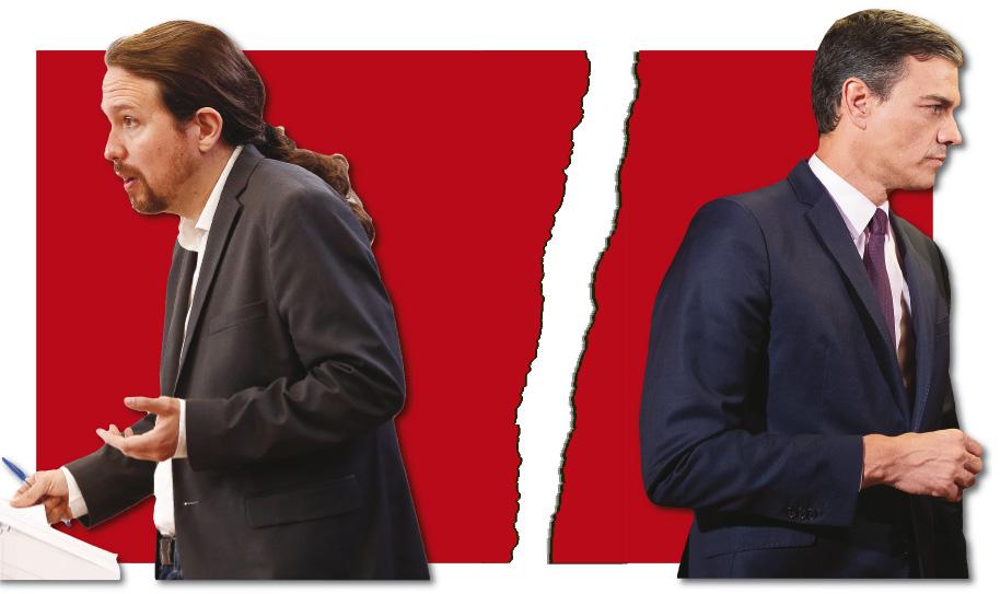Pablo Iglesias y Pedro Sánchez. Se buscan Culpables