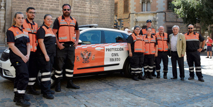 Presentación vehículo Protección Civil