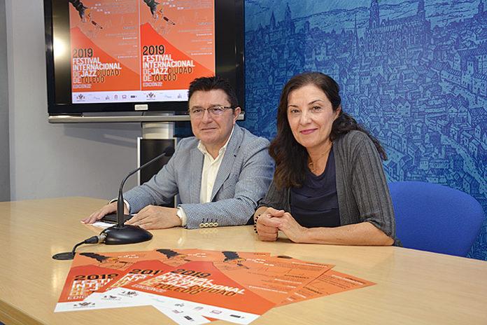 Teo García presentación del Festival Internacional de Jazz