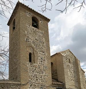 Torre de la Iglesia de San Lucas en Toledo