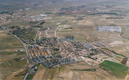 Fotografía aérea de Serranillos del Valle