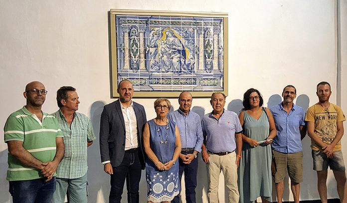 Panel de cerámica de Jan Floris