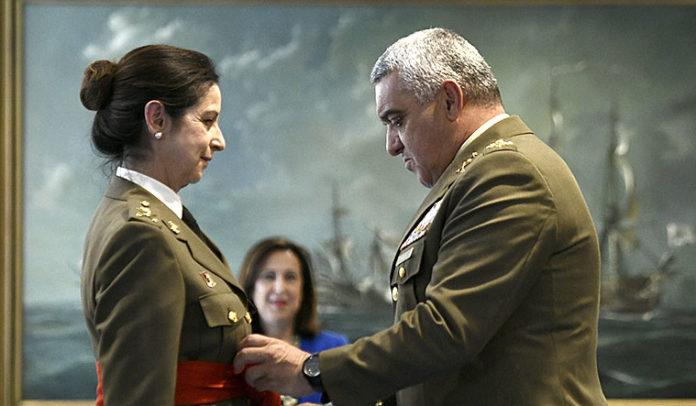 La primera general mujer, Patricia Ortega.