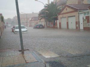 tormenta de agua seseña