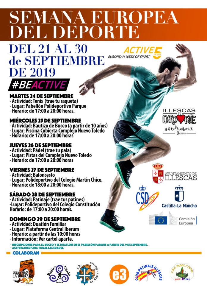 Semana del deporte eurpeo en Illescas