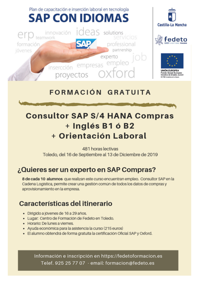 Cartel SAP sept 2019