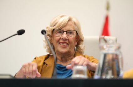 La cúpula de Más País intenta que Manuela Carmena se involucre al máximo en la campaña. / EP