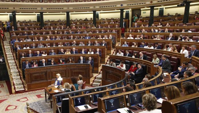El Congreso de los Diputados disolución de cortes 10-N