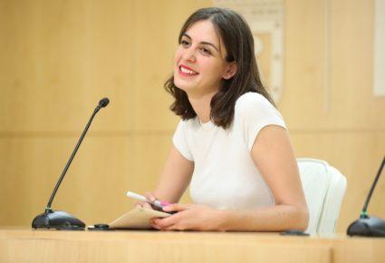 Rita Maestre y el resto del núcleo duro del errejonismo se mantendrá en el Ayuntamiento y en la Asamblea de Madrid. / EP