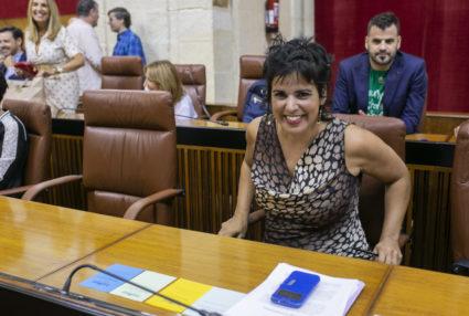 Teresa Rodríguez quiere devolver los 8.640 euros que ha cobrado durante su baja por maternidad. / EP