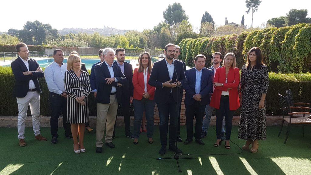 Presentación Candidatos PSOE al congreso y Senado