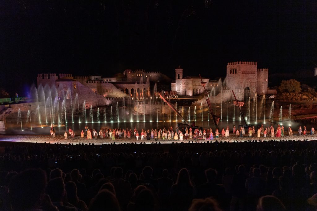 Inauguración de Puy du Fou el 31 de agosto