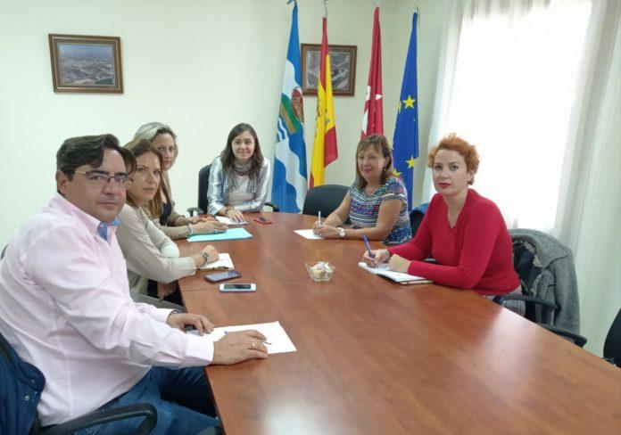 Reunión corporación de Seseña y alcaldesa de Ciempozuelos