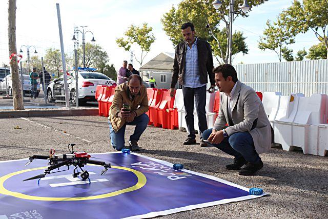 Dron de seguridad en Las Rozas