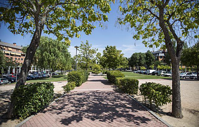 Inicio de obras para parking en Parque Empresarial Las Rozas