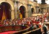 El Parlament en la moción de censura contra Torra. / EUROPA PRESS