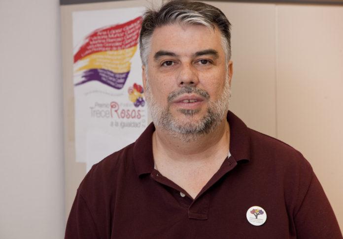 Arturo Peinado, presidente de la Federación Estatal de Foros por la Memoria