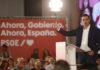 El secretario general del PSOE y presidente del Gobierno en funciones, Pedro Sánchez en un acto de campaña en Granada. / EUROPA PRESS